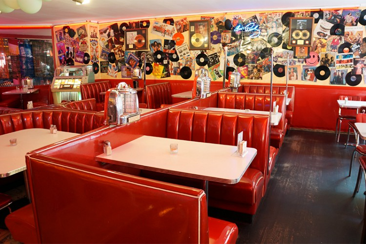 Route 66 - American Diner in Berlin