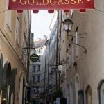 Die berühmte Goldgasse