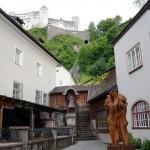 Stiftsbäckerei (außen) mit Blick auf die Festung