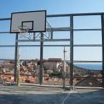 Sportplatz der Stadt