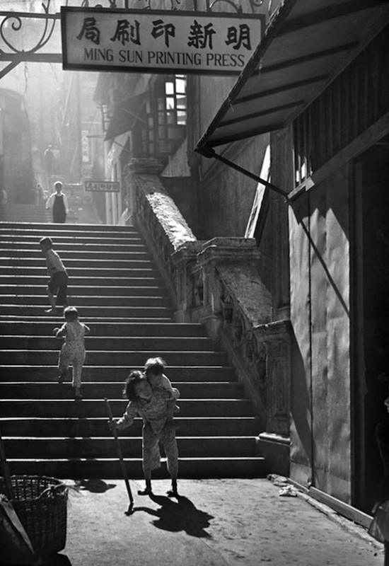 Hong Kong 1950 - by Fan Ho